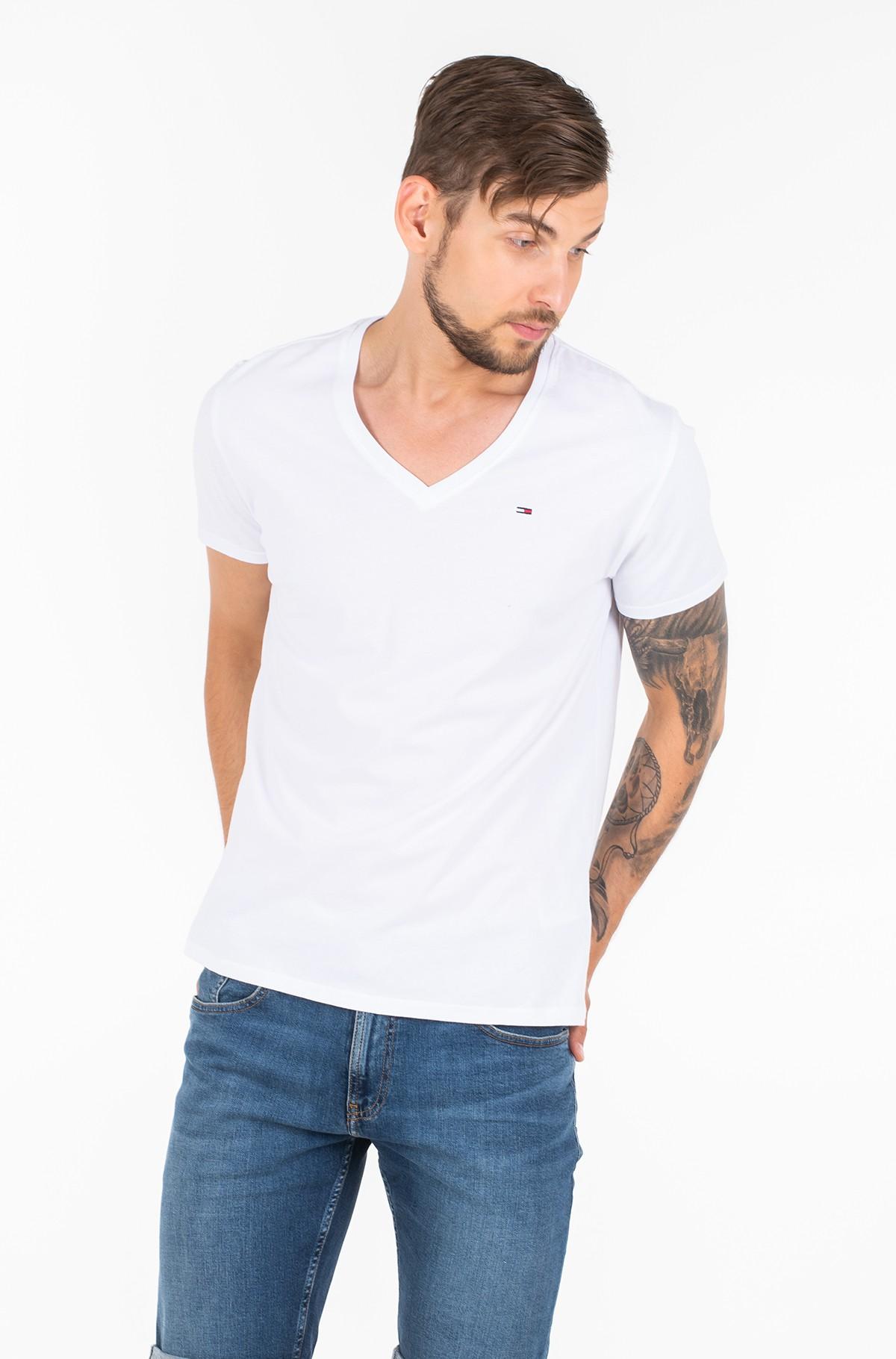 T-shirt TJM ORIGINAL JERSEY V NECK TEE-full-1