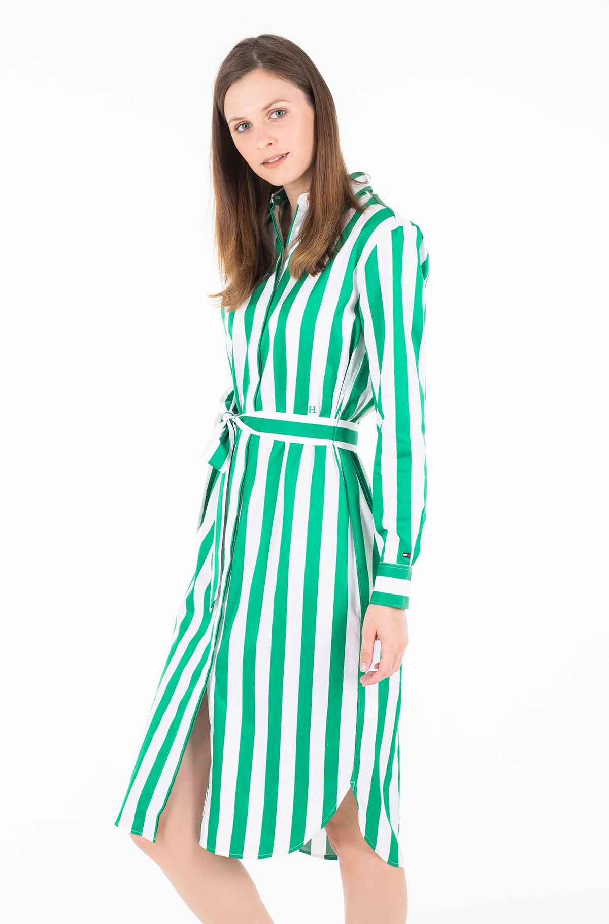 Suknelė TH ESSENTIAL MIDI SHIRT DRESS LS-full-1