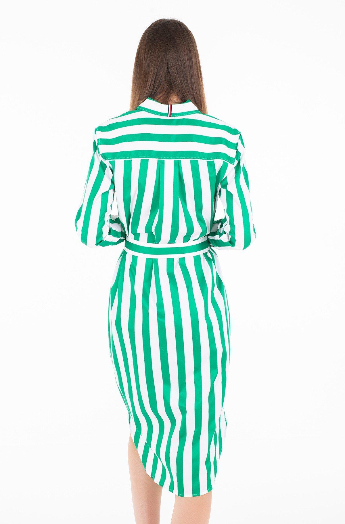 Suknelė TH ESSENTIAL MIDI SHIRT DRESS LS-full-2