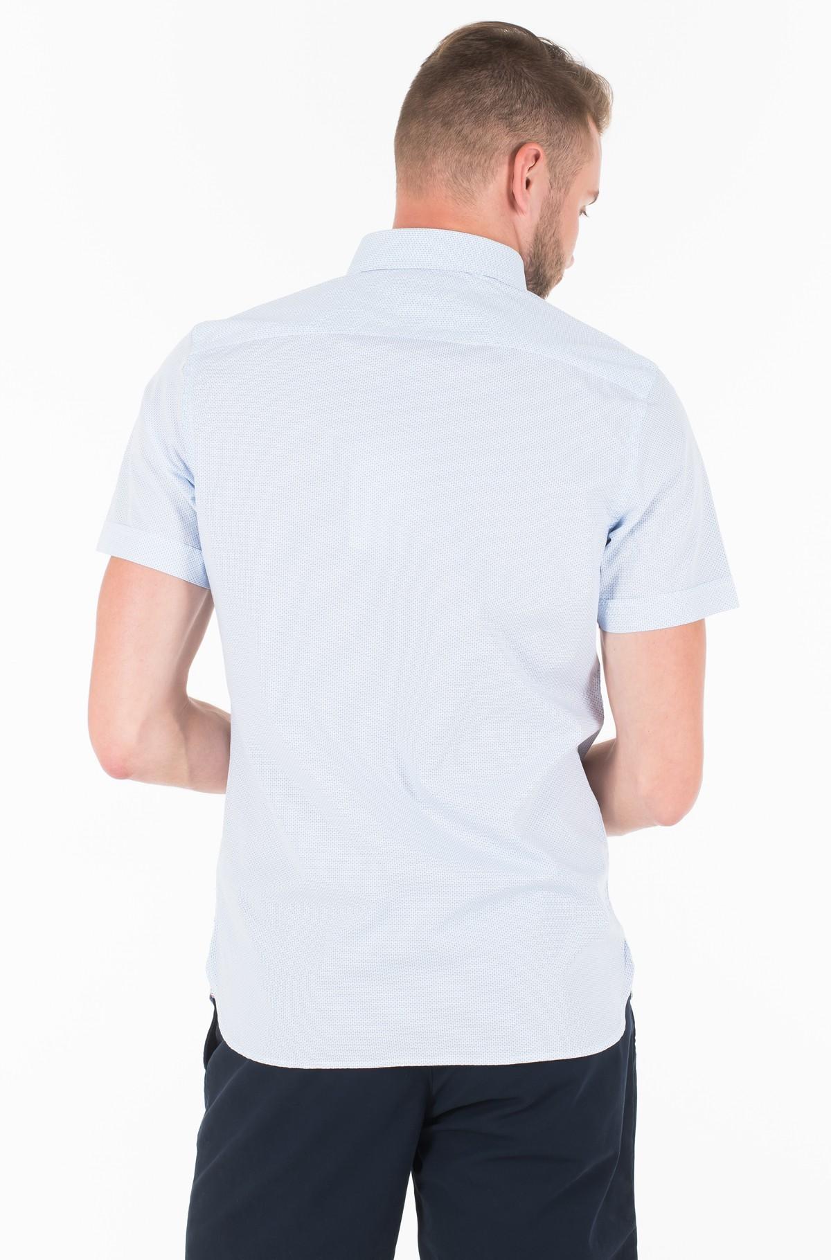 Marškiniai SLIM MINI PRINT SHIRT S/S-full-2