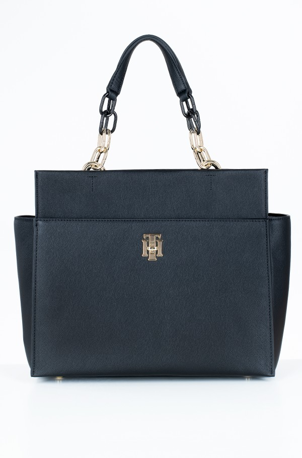 TH SAFFIANO SATCHEL