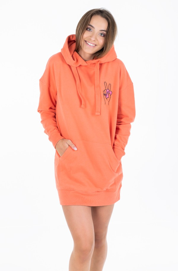 TJW BOLD STATEMENT HOODIE DRESS