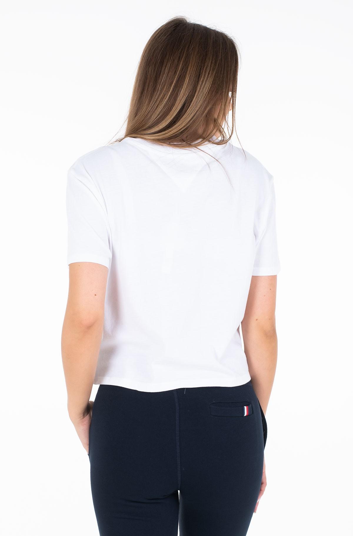 Marškinėliai TJW LEOPARD PRINT DETAIL TEE-full-2
