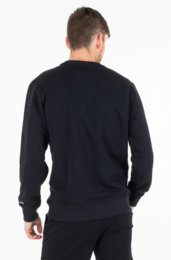 CK CHEST BADGE REG CREW NECK-hover