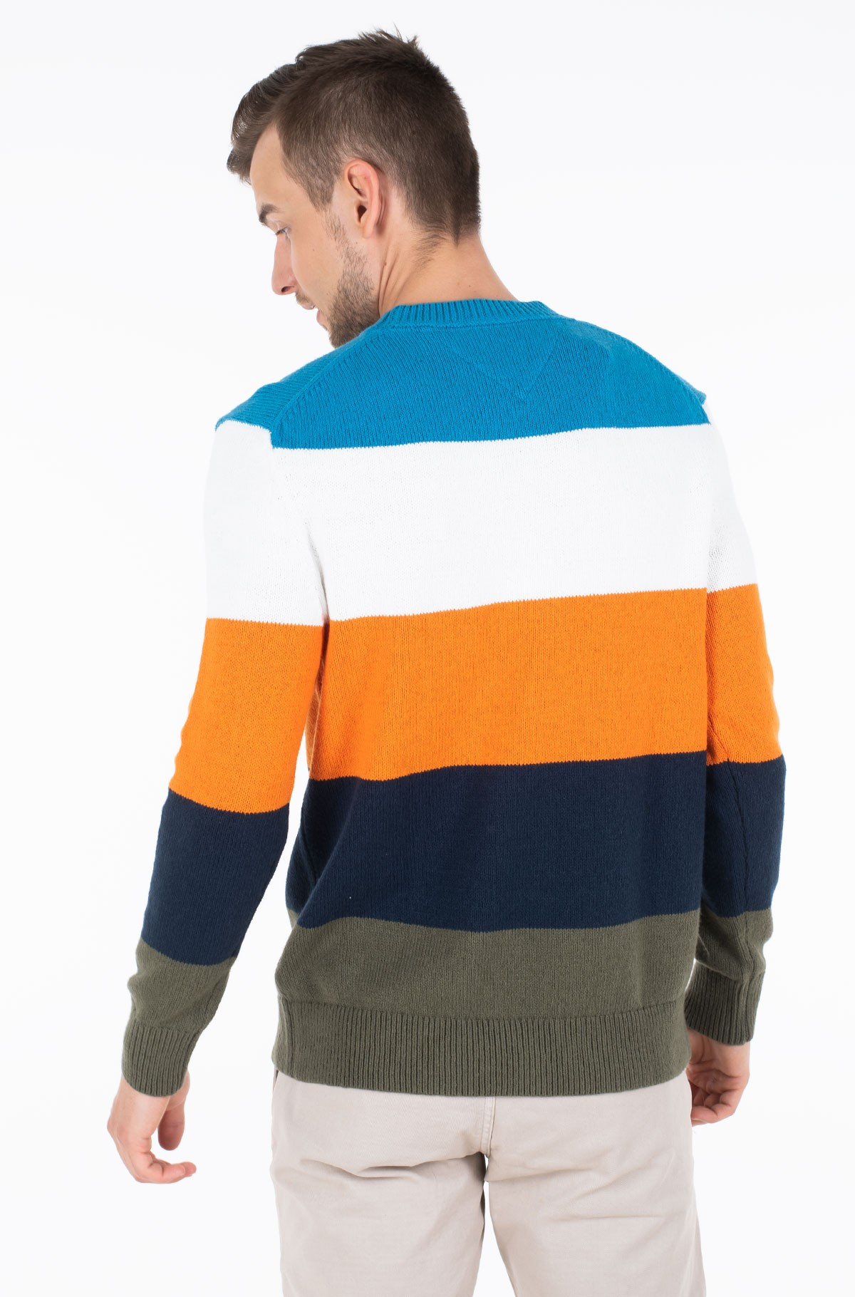 Sviiter TJM COLORBLOCKING SWEATER-full-2