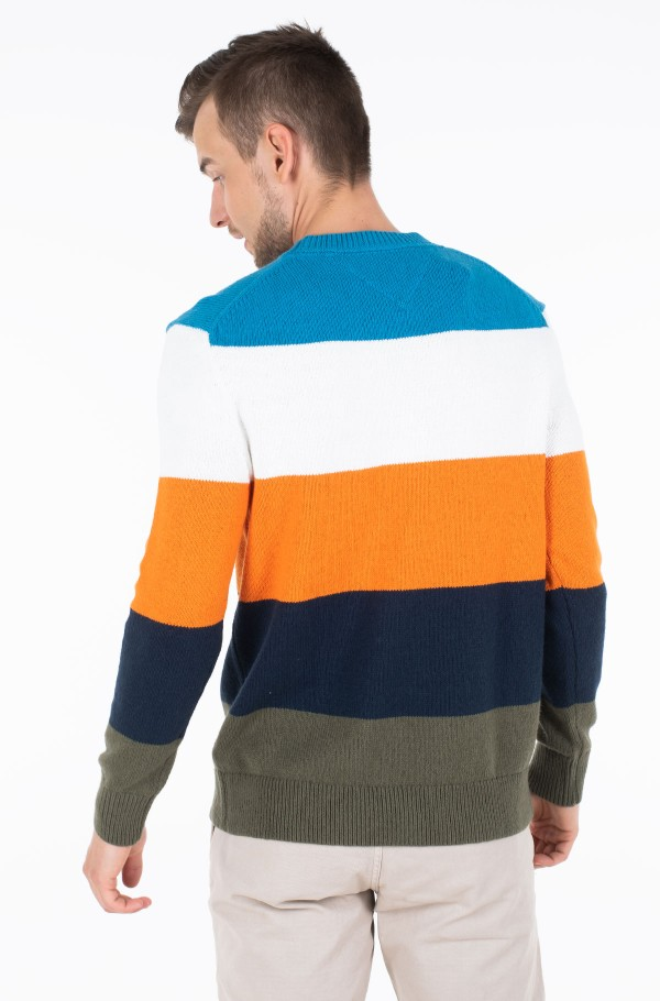 TJM COLORBLOCKING SWEATER-hover