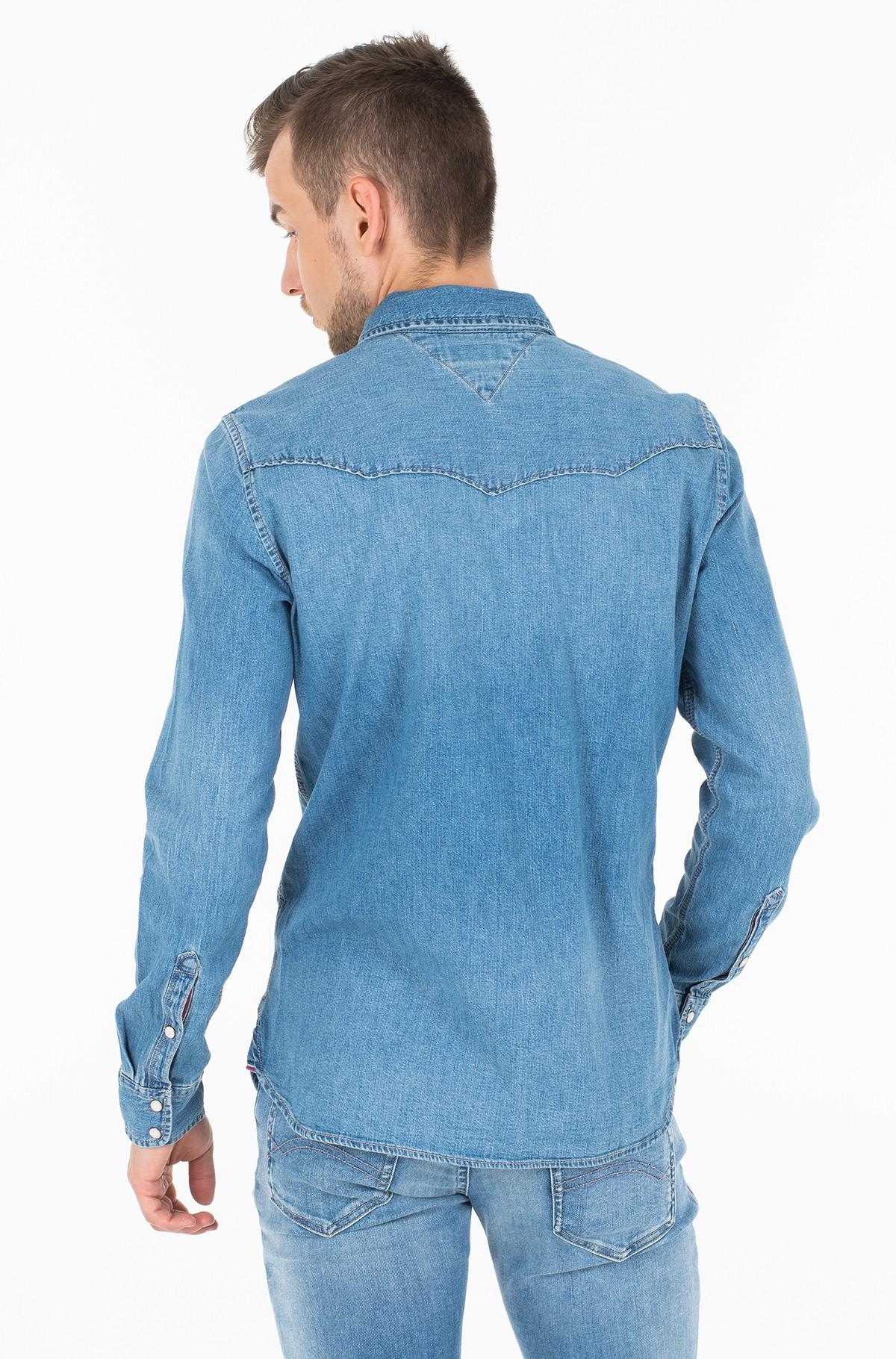 Džinsiniai marškiniai WESTERN DENIM SHIRT MSLB-full-3