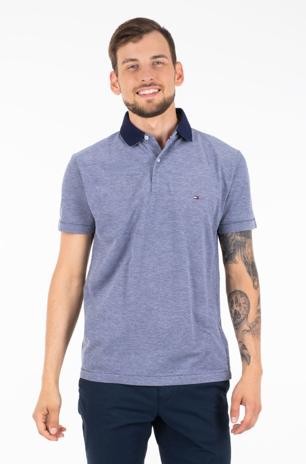 UNDER COLLAR PRINT REGULAR POLO