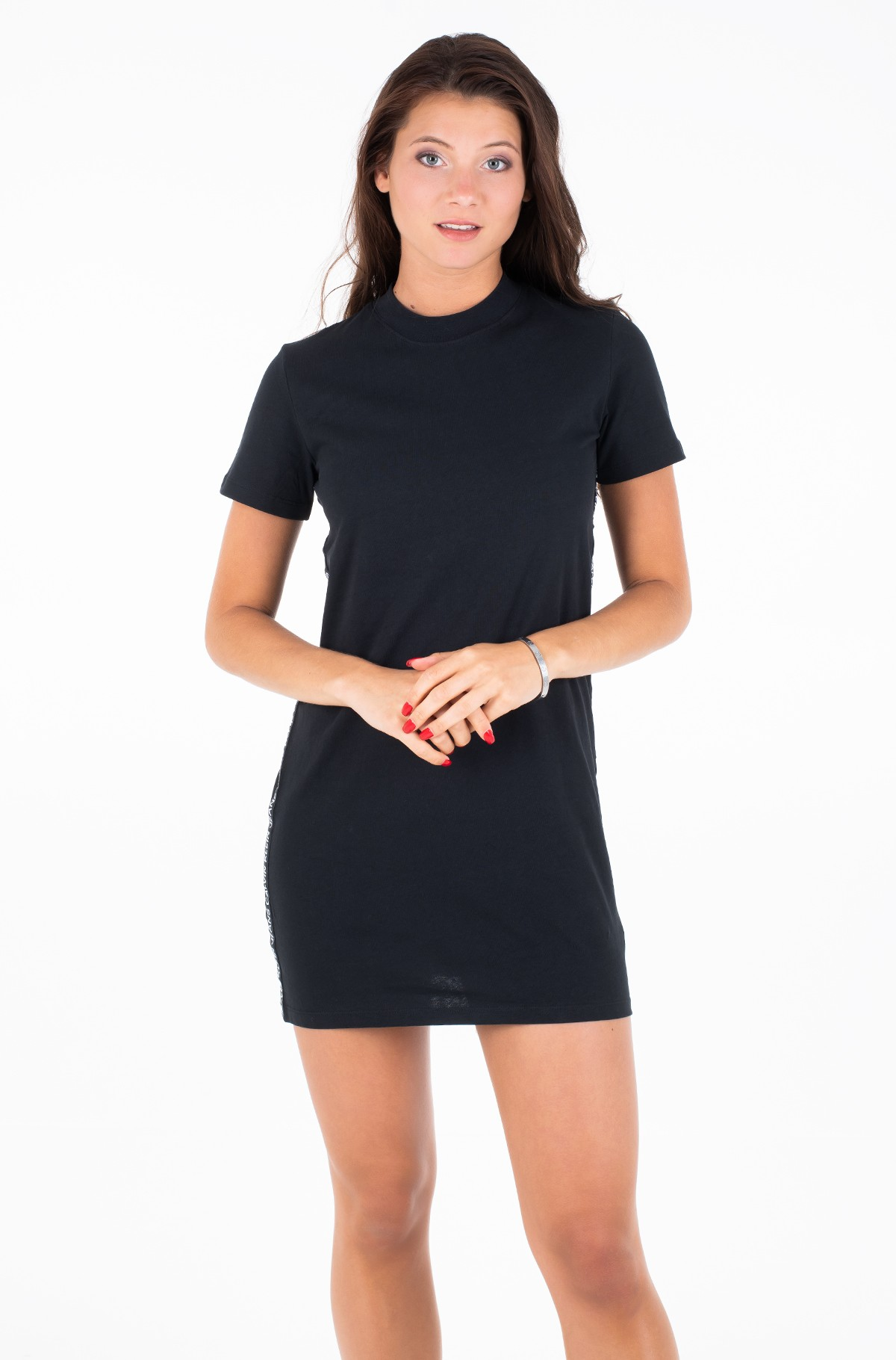 Suknelė TAPE LOGO T-SHIRT DRES-full-1