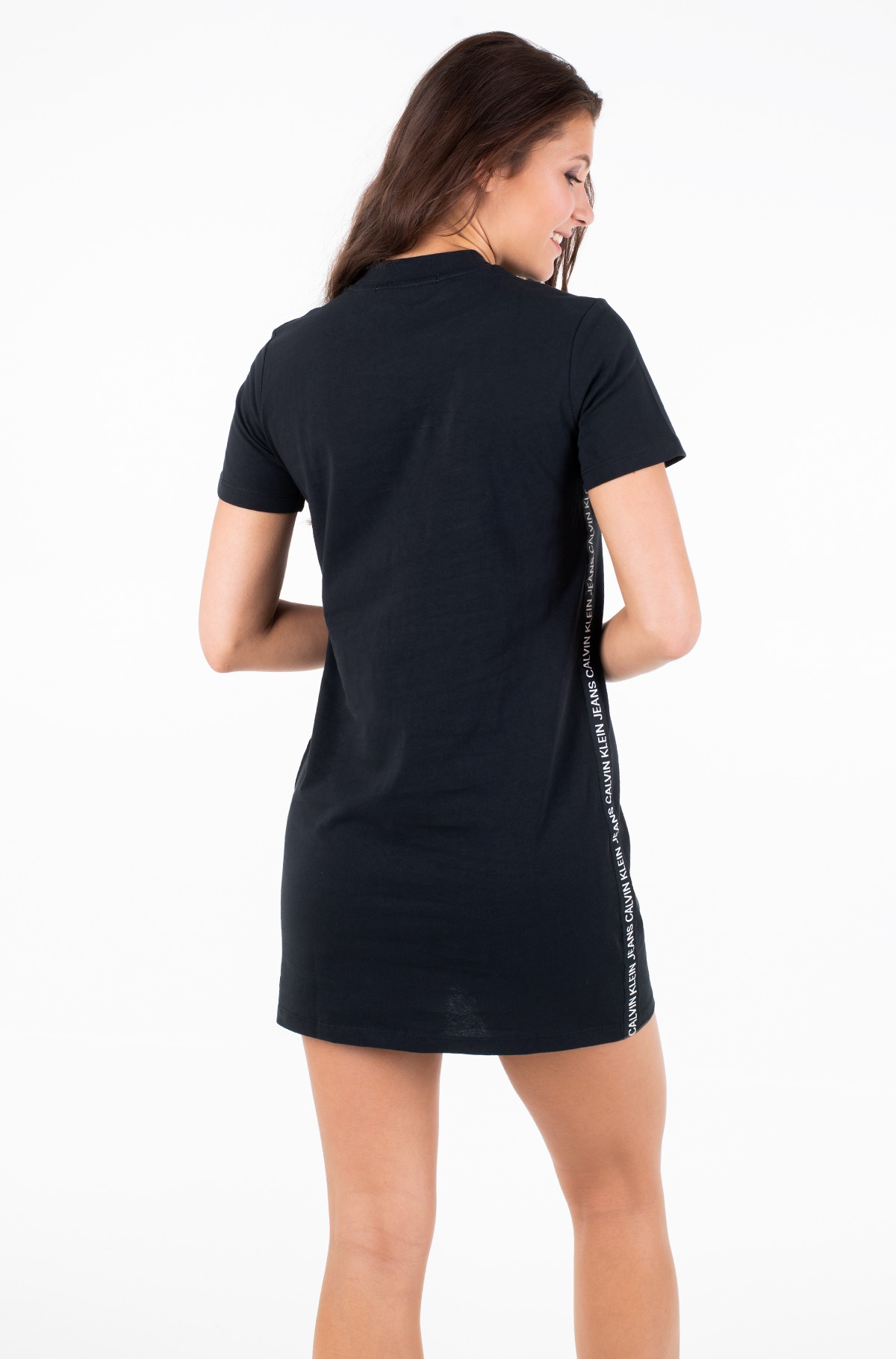 Suknelė TAPE LOGO T-SHIRT DRES-full-2