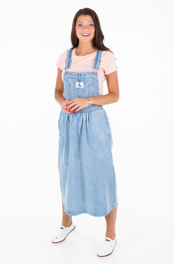 ICONIC DUNGAREE DRESS