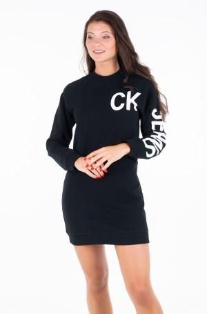 Suknelė CK JEANS LOGO KNIT DRESS-2