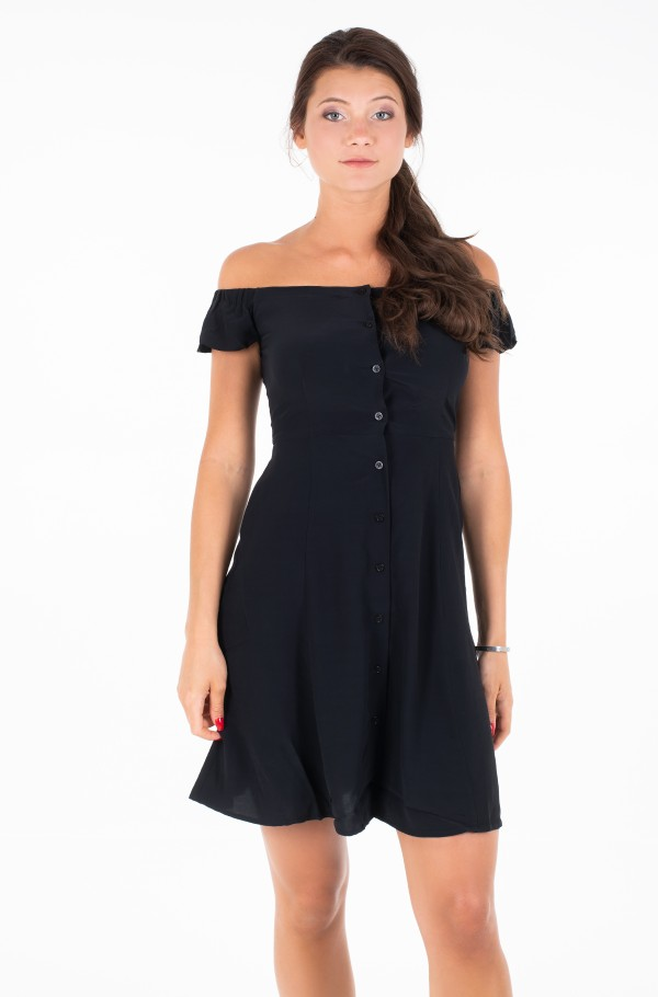 BARDOT FLARED DRESS