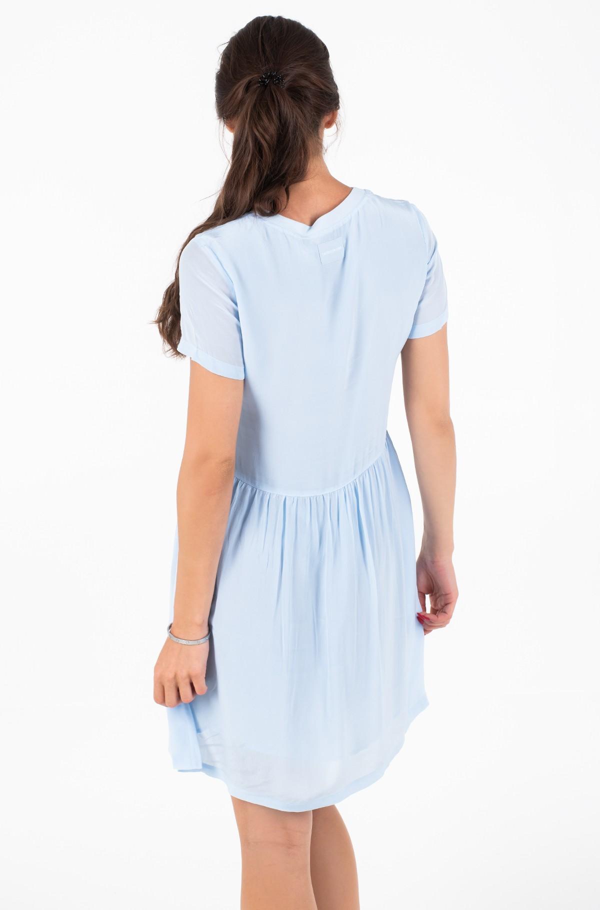 Suknelė FAUX SILK T-SHIRT DRESS-full-2