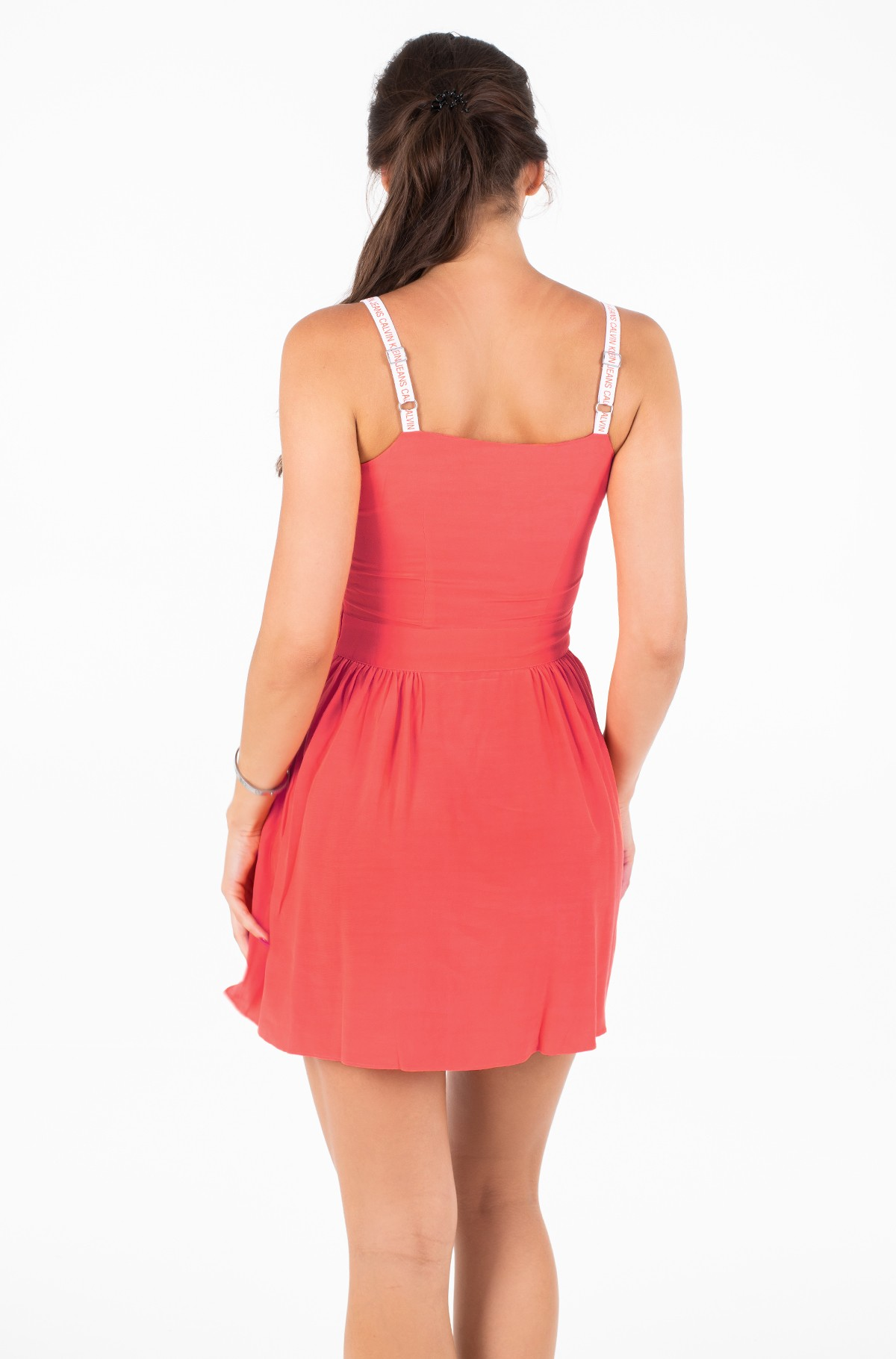 Kleita LOGO STRAP SLIP DRESS-full-2