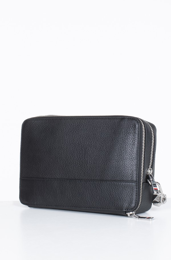 CORPORATE LEATHER MONEY BAG-hover