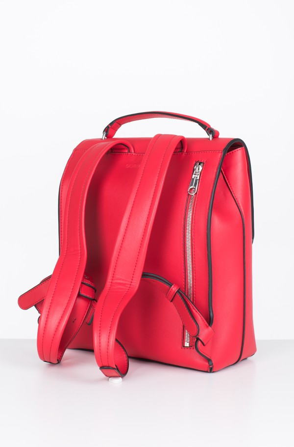 SCULPTED MONOGRAM FLAP BACKPACK-hover