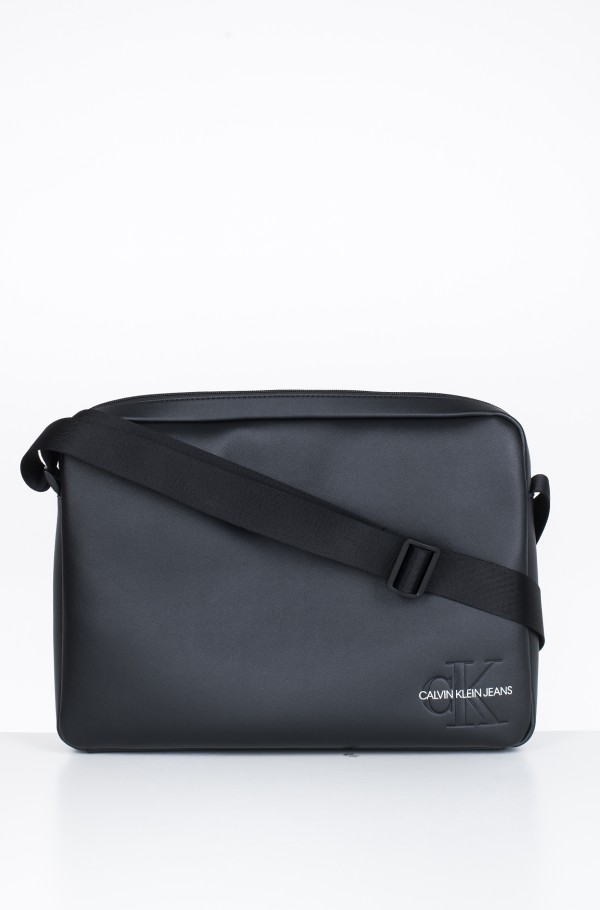 SMOOTH MONOGRAM LAPTOP BAG