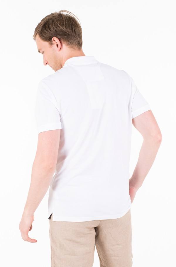 BADGE PIMA COTTON POLO-hover
