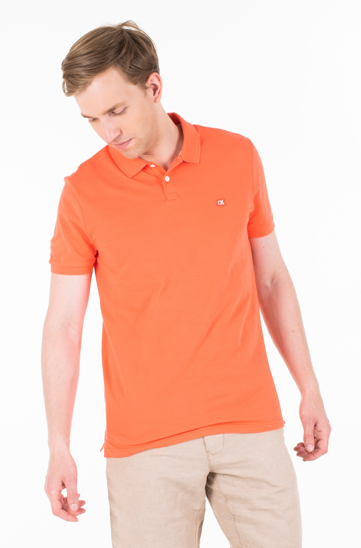 Polo BADGE PIMA COTTON POLO-full-1