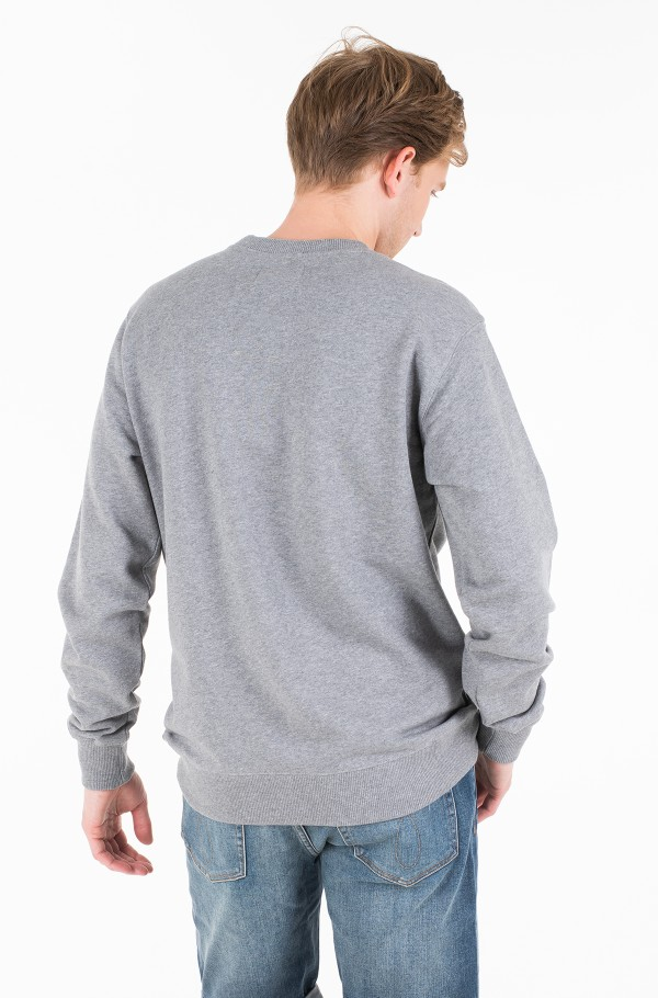 FLOCK MONOGRAM BOX REG CREW NECK-hover