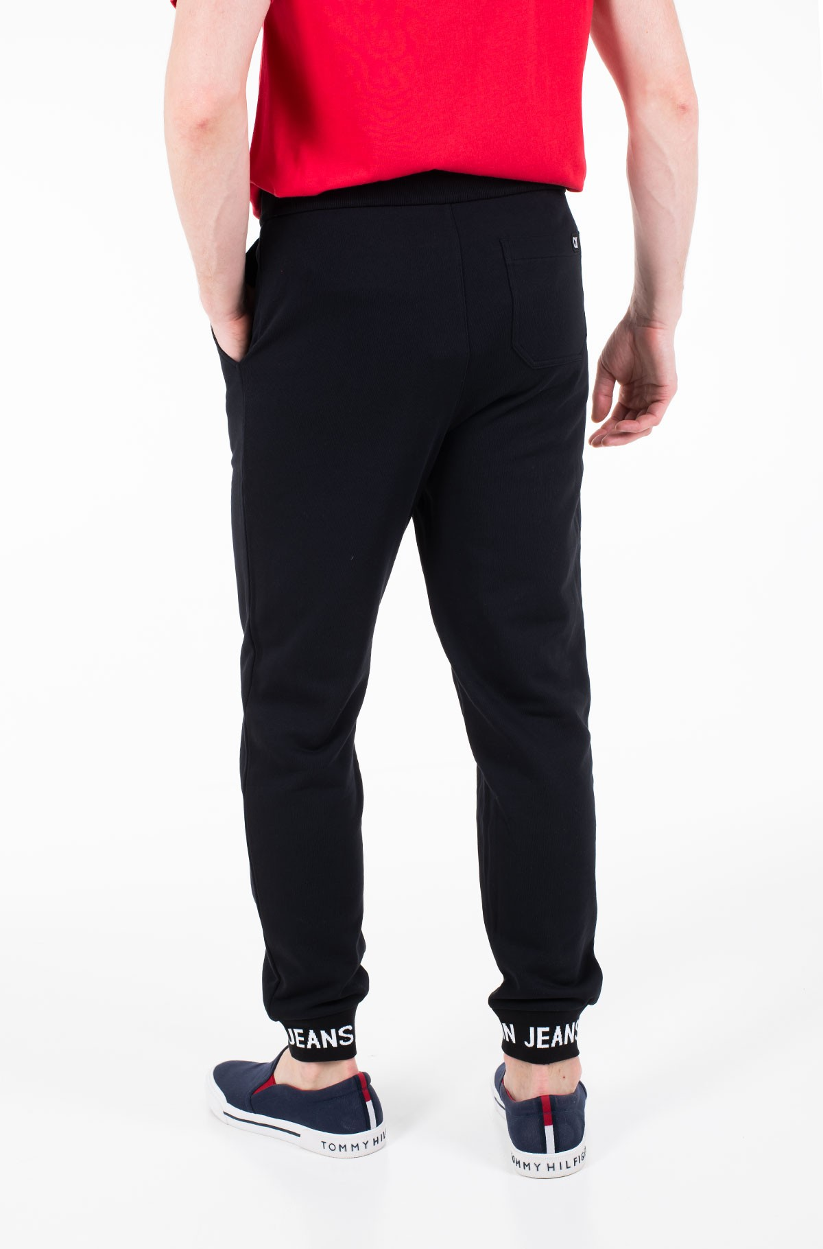 Sportinės kelnės HWK INSTIT LOGO CUFF-full-2