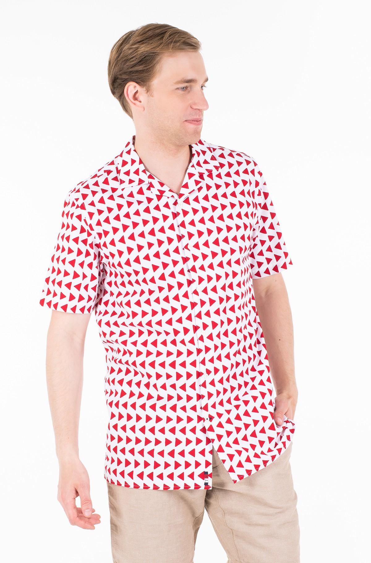 Marškiniai su trumpomis rankovėmis BOLD GEO PRINT SHIRT S/S-full-1