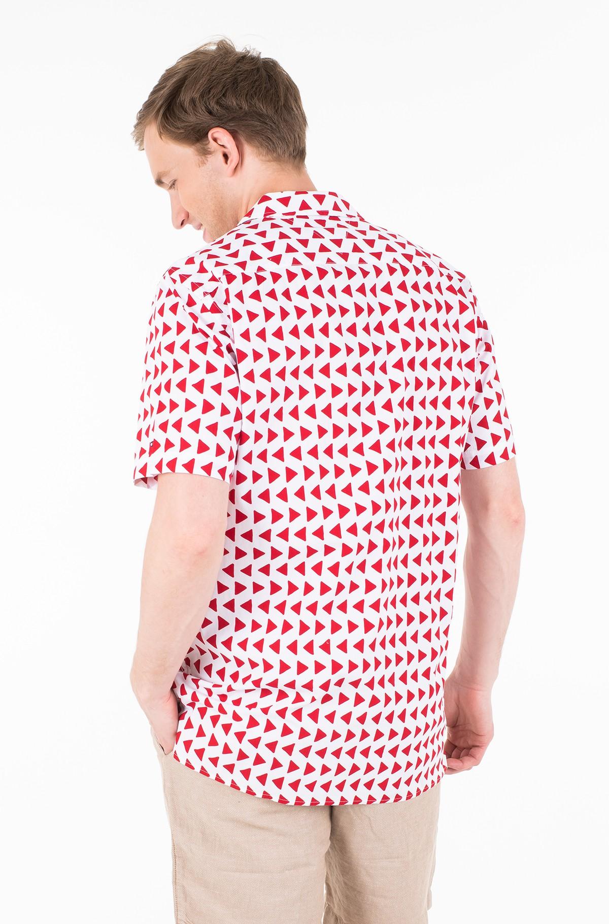 Marškiniai su trumpomis rankovėmis BOLD GEO PRINT SHIRT S/S-full-2