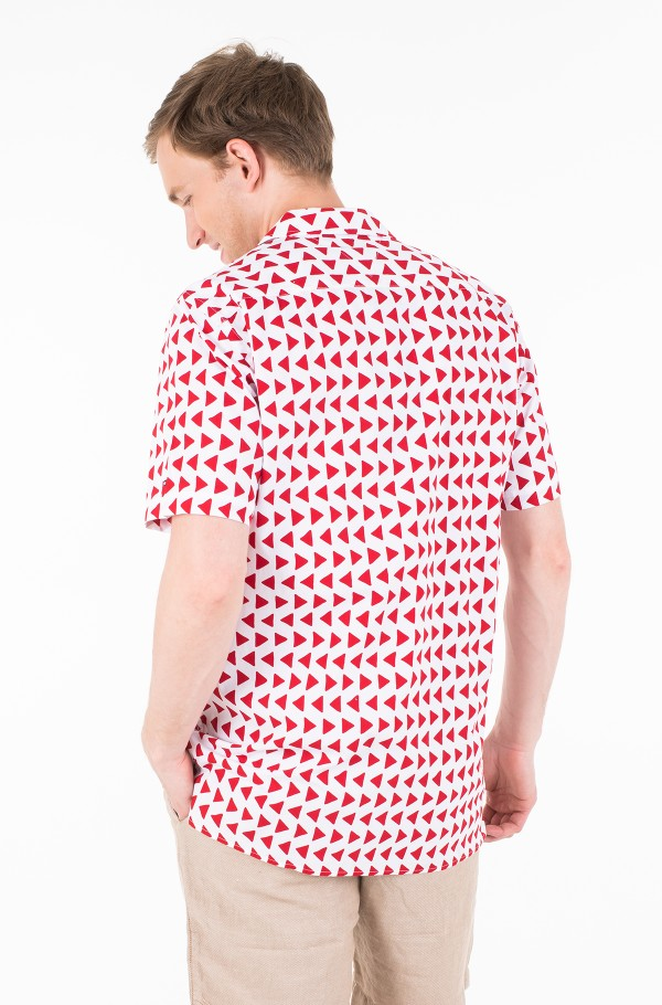 BOLD GEO PRINT SHIRT S/S-hover