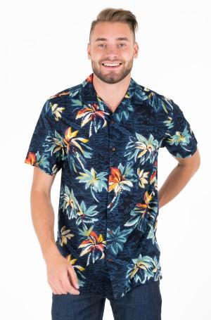 Marškiniai su trumpomis rankovėmis HAWAIIAN PRINT SHIRT S/S-1