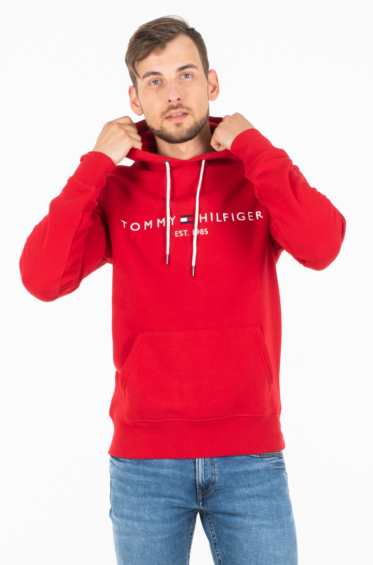 Džemperis TOMMY LOGO HOODY MW0MW10752-full-1