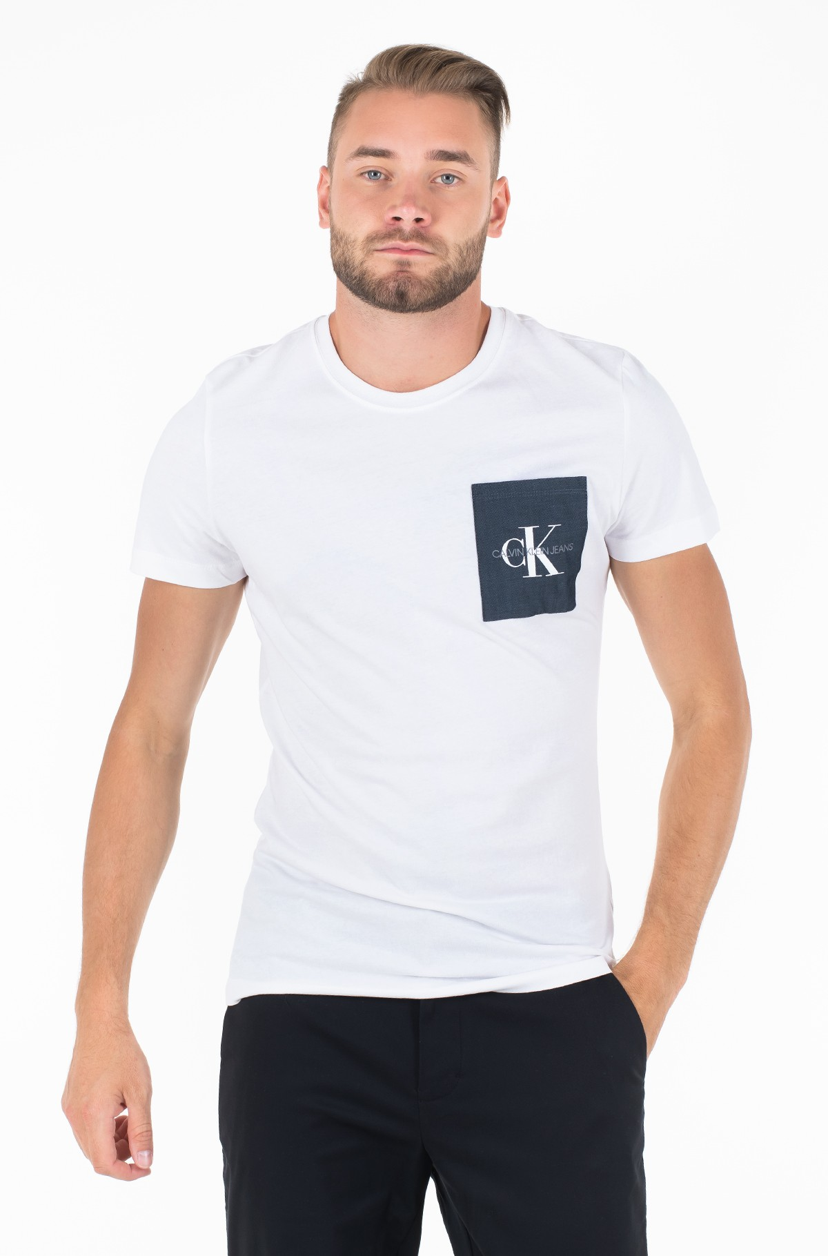 T-särk MONOGRAM POCKET SLIM SS TEE-full-1