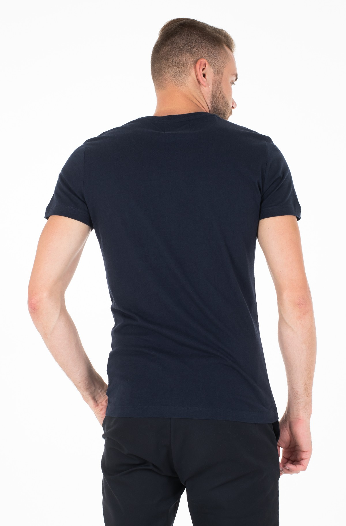 Marškinėliai MONOGRAM POCKET SLIM SS TEE-full-2
