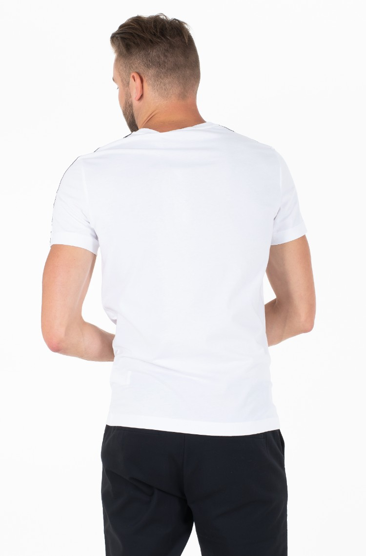 c33c73370e1d White T-shirt SLEEVES LOGO INSTIT TAPE SS Calvin Klein, Mens Short ...