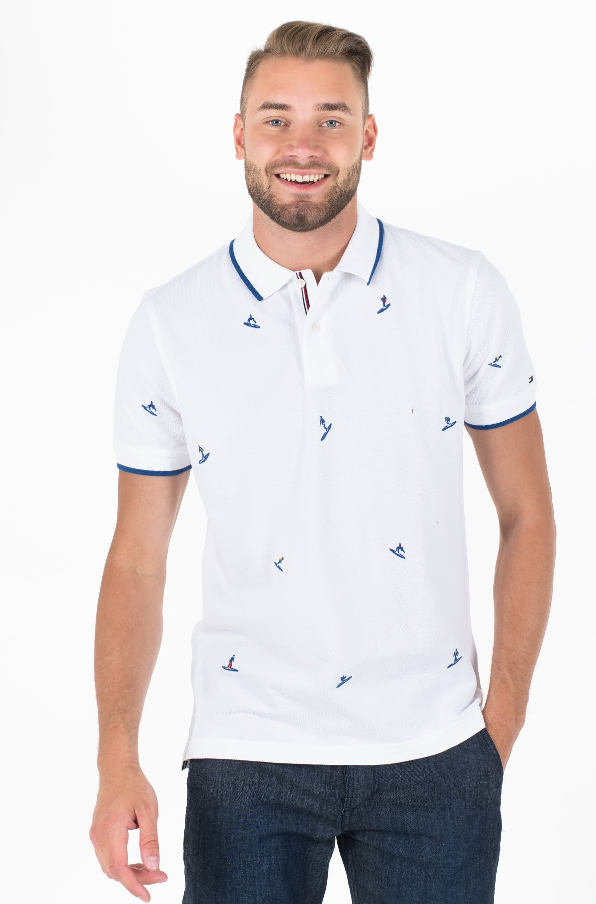 Polo ALL OVER EMBROIDERY REGULAR POLO-full-1