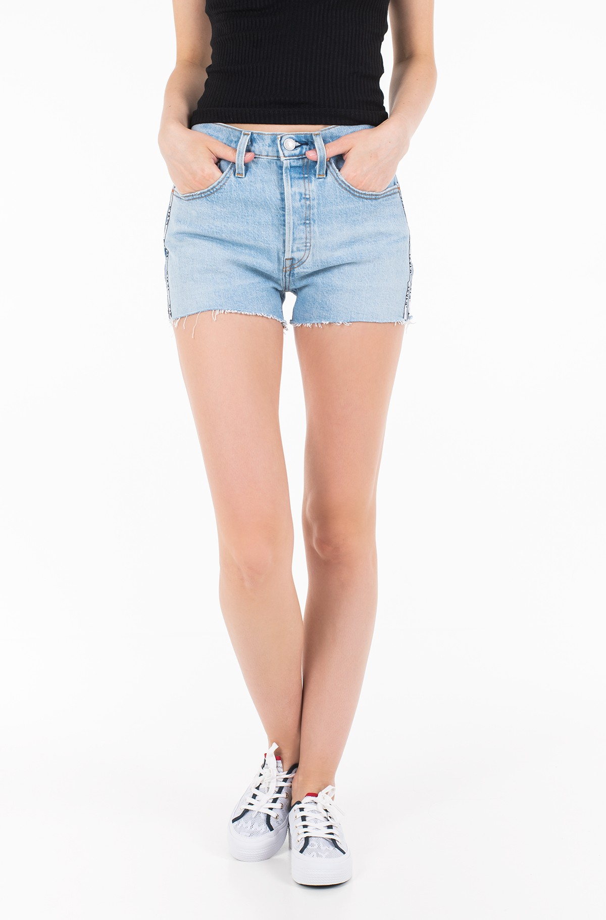 Lühikesed teksapüksid 563270042-full-1
