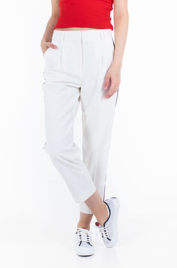 PETRA HW PLEATED ANKLE PANT
