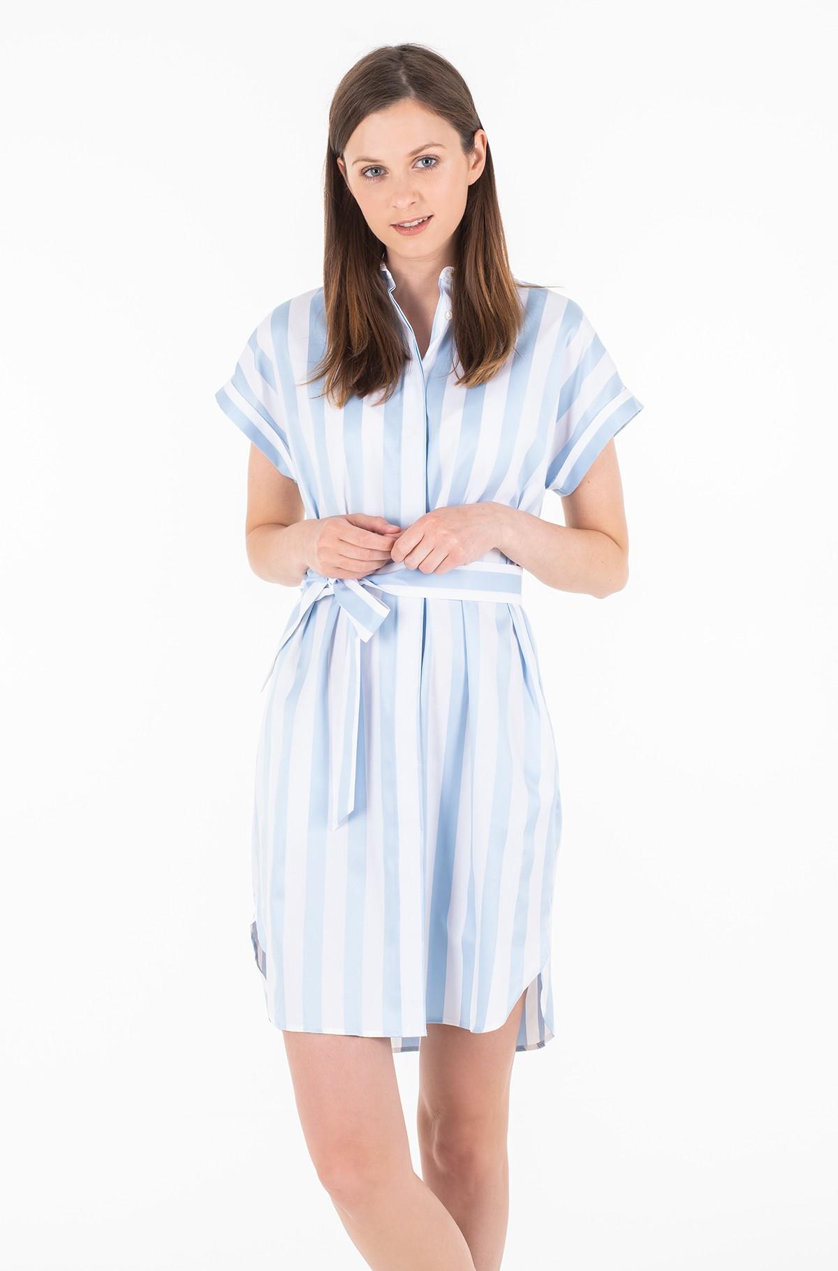 Suknelė TH ESSENTIAL SHIRT DRESS SS-full-1