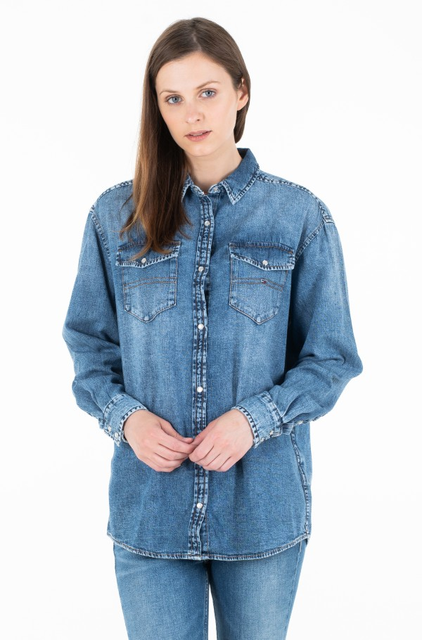 OVERSIZED DENIM SHIRT VLNCM