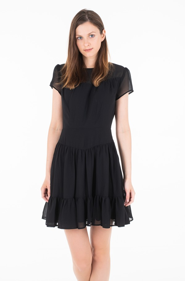 CHIFFON DOUBLE LAYER DRESS