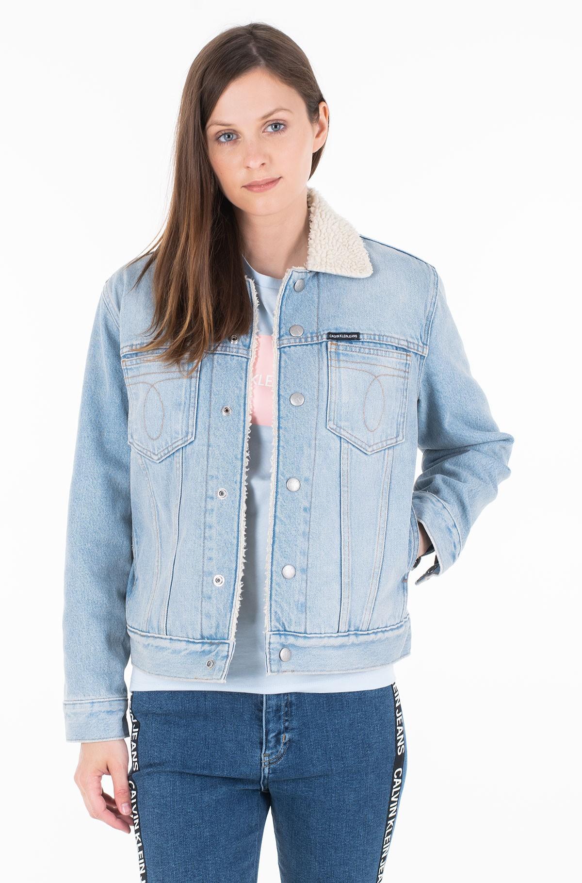Denim jacket OMEGA SHERPA TRUCKER-full-1