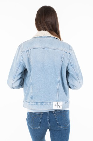 Denim jacket OMEGA SHERPA TRUCKER-2