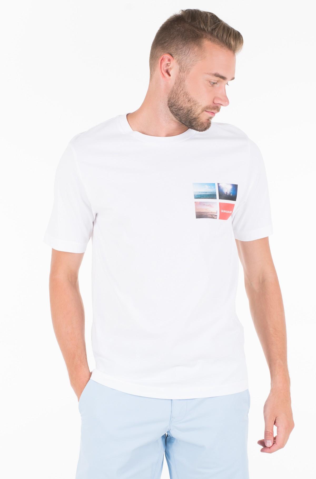 Marškinėliai PHOTOGRAPHIC SMALL CHEST REG SS-full-1