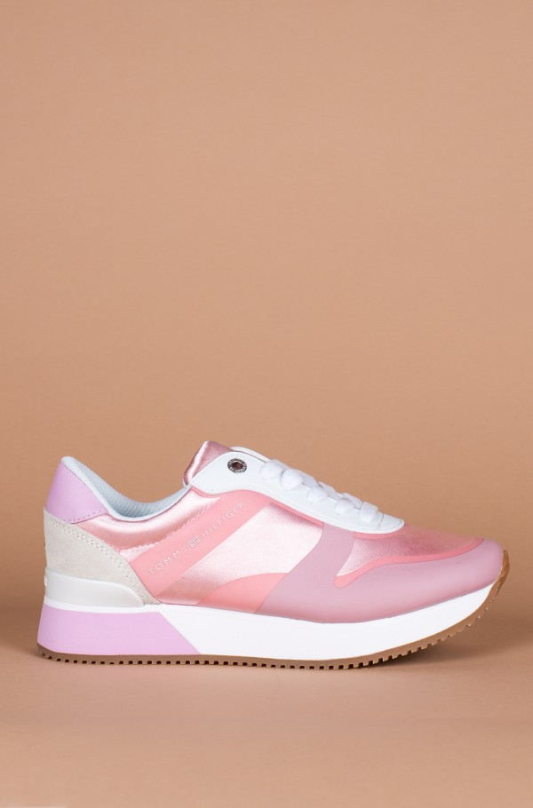 POP COLOR SATIN CITY SNEAKER
