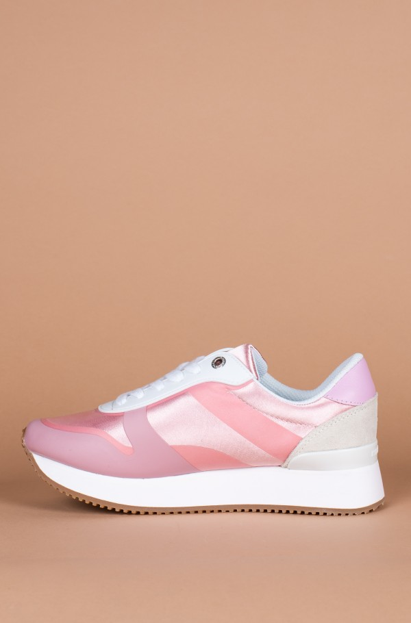 POP COLOR SATIN CITY SNEAKER-hover
