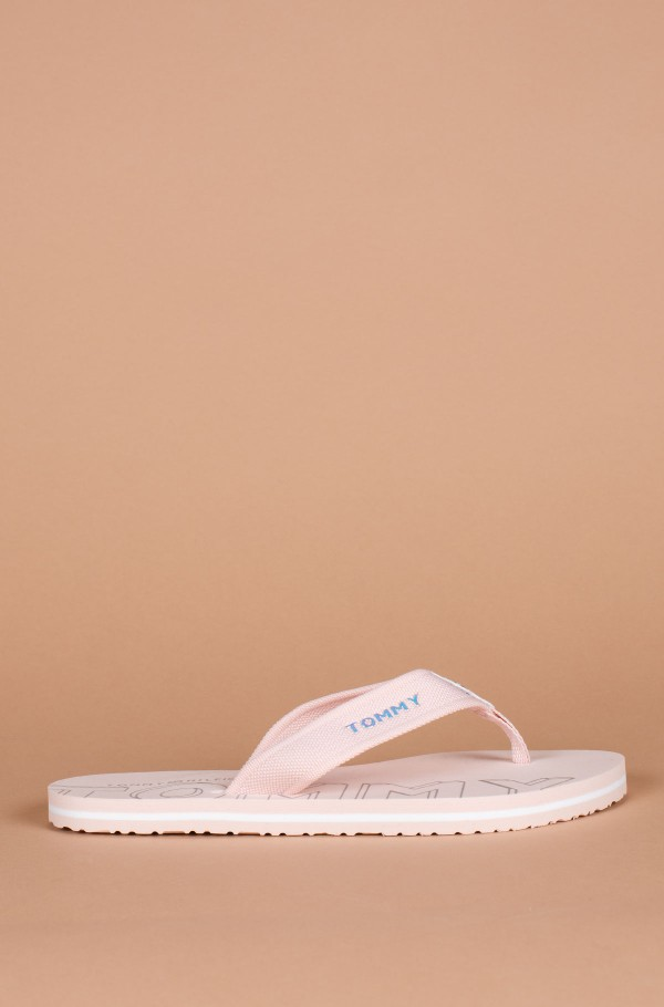 IRIDESCENT DETAIL BEACH SANDAL