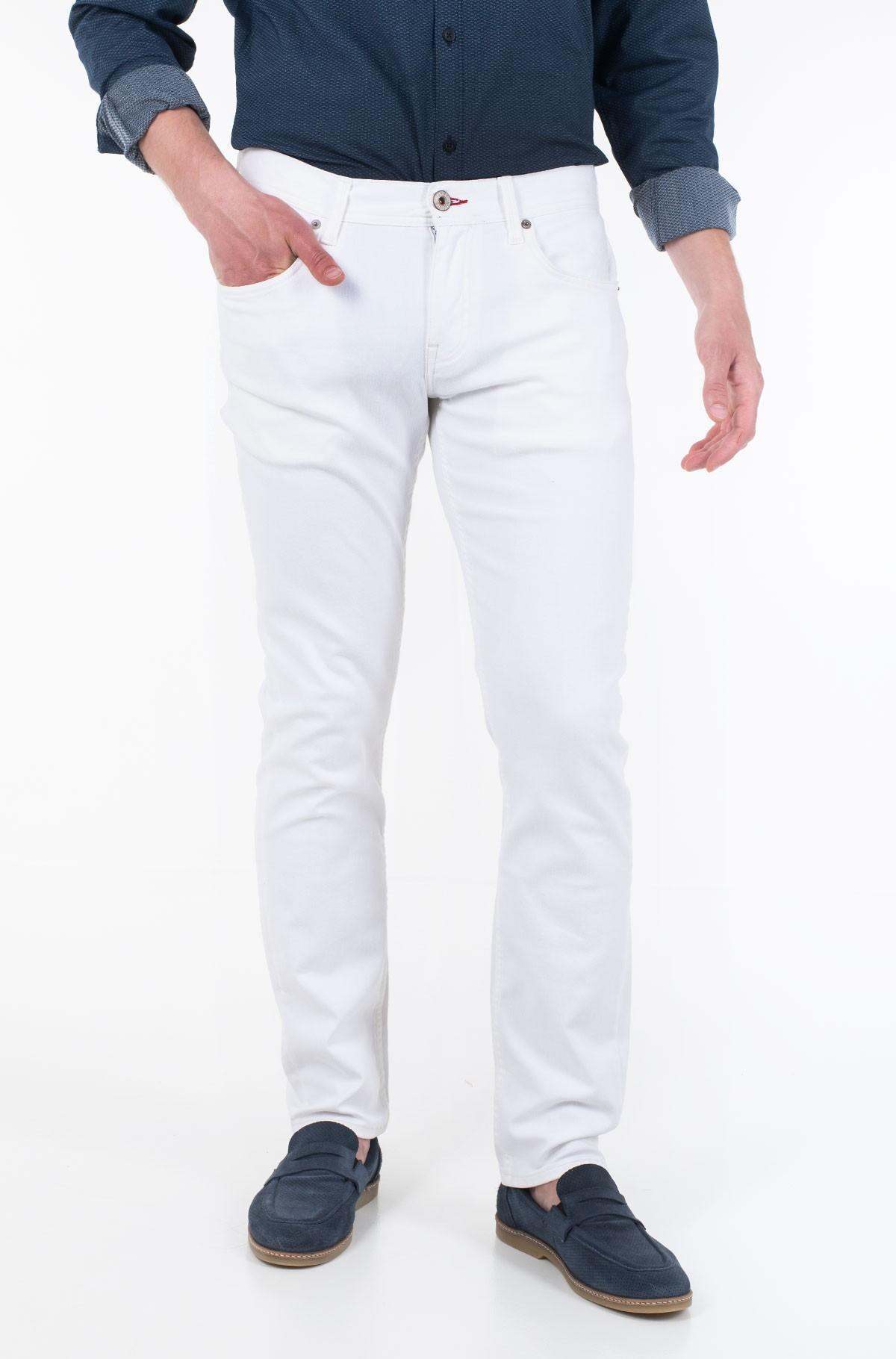 Džinsinės kelnės STRAIGHT DENTON STR CHADON WHITE-full-1