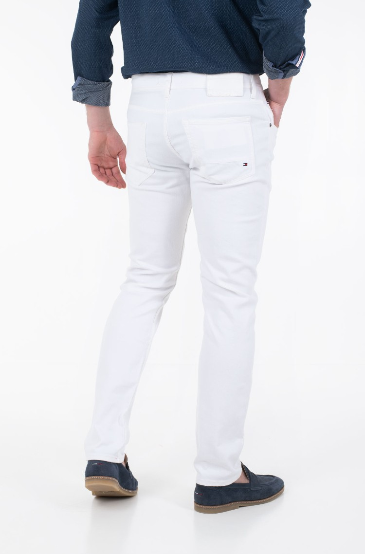 White Jeans STRAIGHT DENTON STR CHADON WHITE Tommy Hilfiger