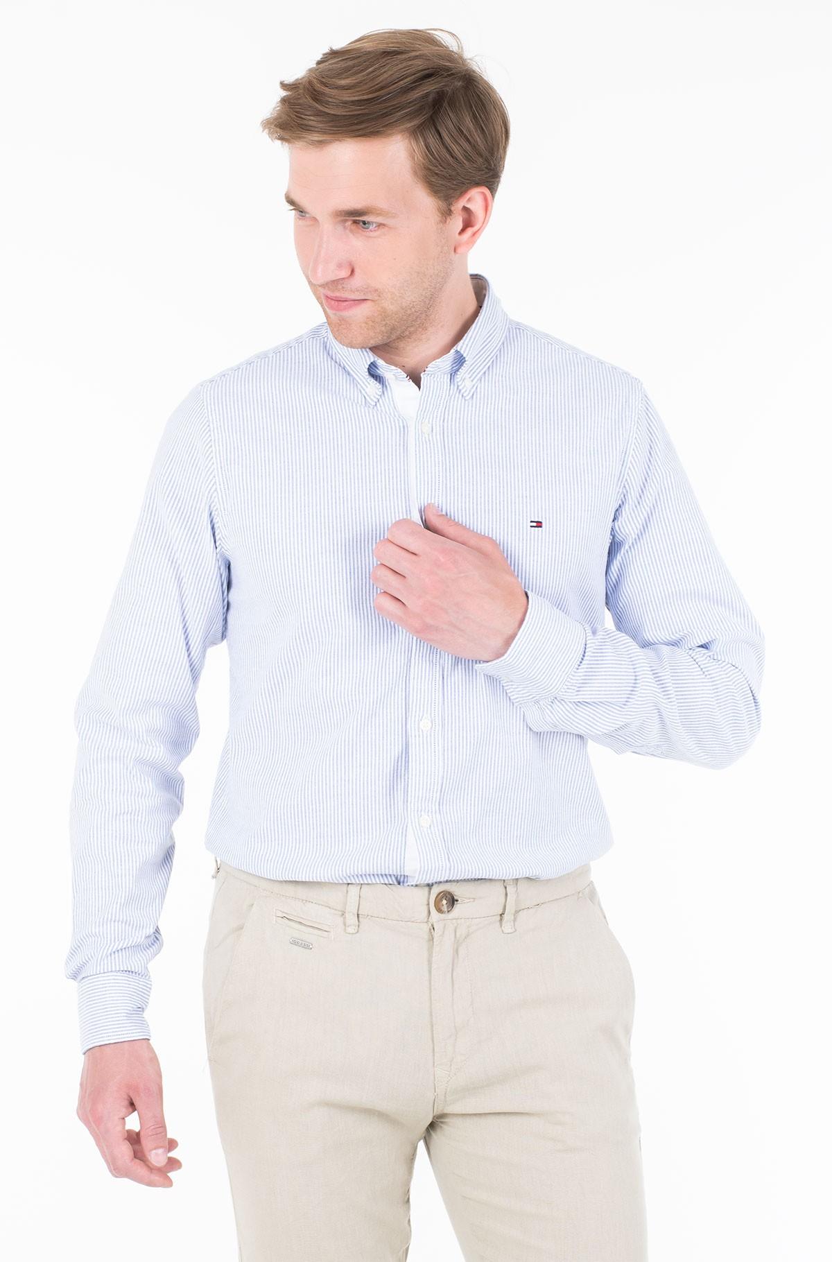 Marškiniai CORE STRETCH SLIM STRIPE SHIRT-full-1