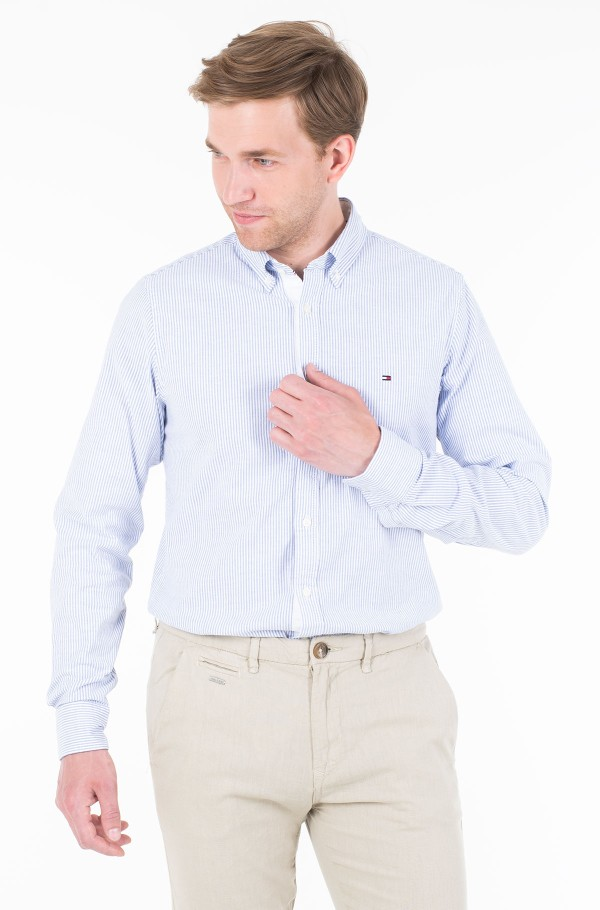 CORE STRETCH SLIM STRIPE SHIRT